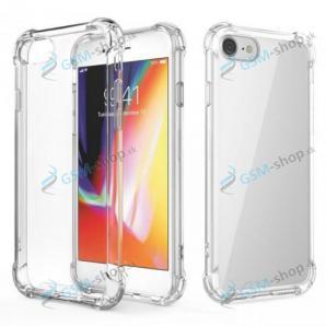 Púzdro silikón ANTISHOCK iPhone 12, iPhone 12 Pro priesvitné