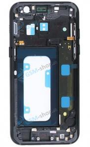 Stred Samsung Galaxy A3 2017 A320F čierny Originál