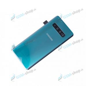 Kryt Samsung Galaxy S10 (G973) batérie zelený Originál
