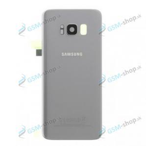 Kryt Samsung Galaxy S8 (G950) batérie strieborný Originál