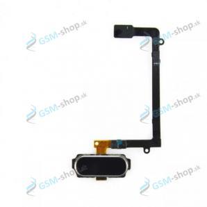 Flex Samsung G925F Galaxy S6 Edge a home tlačidlo čierne Originál