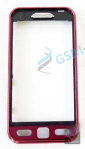 Kryt Samsung S5230 predný Garnet Red Originál