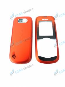 Kryt Nokia 2600 Classic predný a zadný oranžový Originál