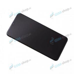LCD Samsung Galaxy A10 (A105) a dotyk s krytom čiernym Originál