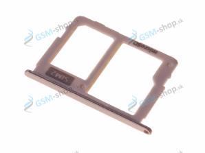 Sim a microSD držiak Samsung J530, J730 zlatý Originál