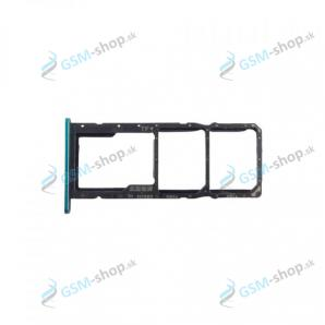 Sim a Micro SD držiak Huawei Y6p zelený Originál