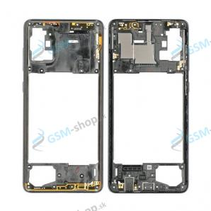 Stred Samsung Galaxy A71 (A715F) čierny Originál