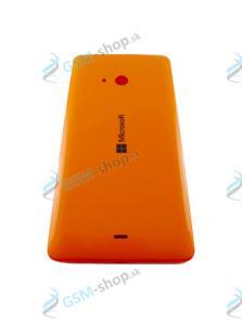 Kryt Microsoft Lumia 540 Dual Sim batérie oranžový Originál