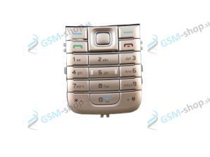 Klávesnica Nokia 6233 hnedá Originál