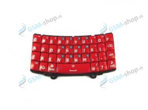 Klávesnica Nokia Asha 303 červená Originál