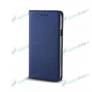 Púzdro Huawei P8 Lite knižka magnetická modrá