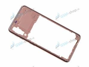Stred Samsung Galaxy A7 2018 A750 zlatý Originál