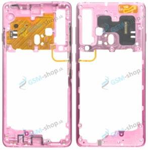 Stred Samsung Galaxy A9 2018 A920F ružový Originál