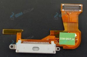 Flex iPhone 3Gs pre nabíjanie biely Originál