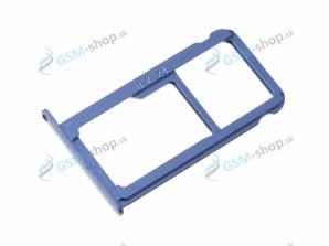 Sim a Micro SD držiak Huawei P10 modrý Originál