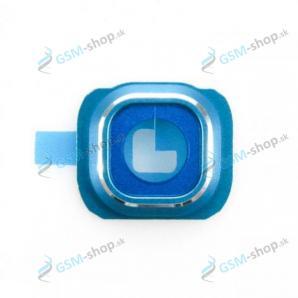 Kryt Samsung Galaxy S6 G920F rám kamery modrý Originál