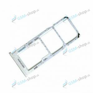 SIM a SD držiak Samsung Galaxy A12 (A125) biely Originál