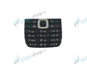 Klávesnica Nokia E75 vonkajšia čierna Originál