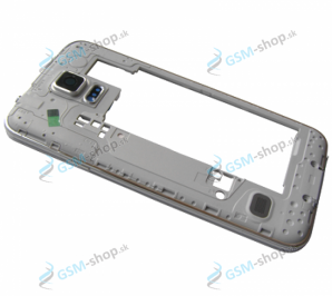 Stred Samsung Galaxy S5 G900F biely Originál