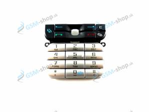Klávesnica Nokia 3230 čierna Originál