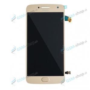 LCD displej Motorola Moto G5 Plus a dotyk zlatý Originál