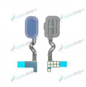 Flex Samsung Galaxy A6 2018 (A600) a snímač odtlačku prsta modrý Originál