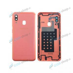 Kryt Samsung Galaxy A20e (A202) batérie červený Originál