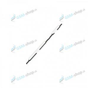 Tlačidlá hlasitosti a zapínania Samsung Galaxy A21s (A217) biele Originál