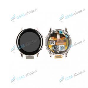 LCD Samsung Galaxy Watch Active (R500) a dotyk strieborný Originál