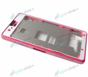 Stred Sony Xperia Z1 Compact D5503 ružový Originál