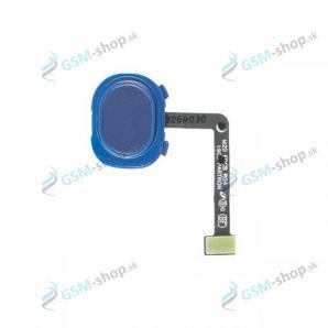 Flex Samsung Galaxy M20 (M205) a snímač odtlačku prsta modrý Originál
