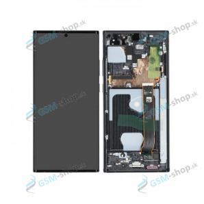 LCD displej Samsung Galaxy Note 20 Ultra 5G (N986) a dotyk čierny s krytom Originál