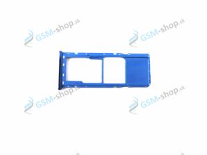 Sim držiak Samsung Galaxy A7 2018 A750 SINGLE SIM modrý Originál