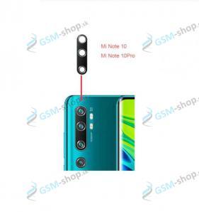 Sklíčko kamery Xiaomi Mi Note 10 čierne OEM