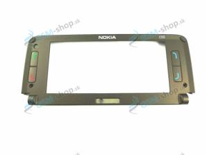 Kryt Nokia E90 okolo LCD hnedý Originál