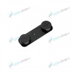 Tlačidlá hlasitosti iPhone 5 čierne Originál
