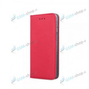 Púzdro iPhone 7, 8, SE 2020 knižka magnetická červená