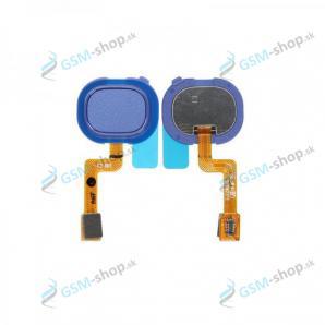 Flex Samsung Galaxy A21s (A217) a snímač odtlačku modrý Originál