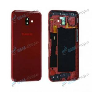 Kryt Samsung Galaxy J6 Plus Duos (J610) batérie červený Originál