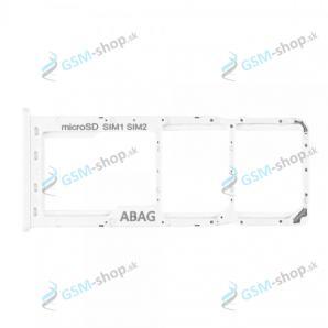 SIM a SD držiak Samsung Galaxy A21s (A217) biely Originál