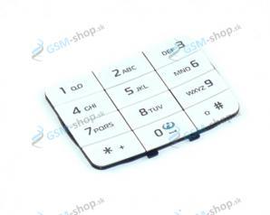 Klávesnica Nokia 5200, 5300 veľká biela Originál