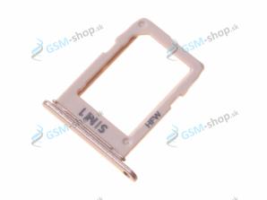 Sim držiak Samsung Galaxy A6 Dual SIM 2018 (A600) zlatý Originál