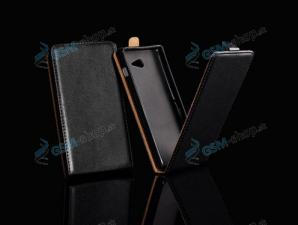 Púzdro Huawei P20 FLIP čierne