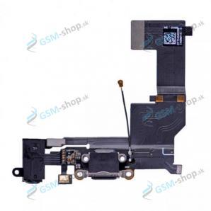 Flex iPhone SE pre nabíjanie čierny Originál