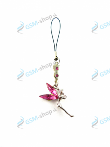 Prívesok Fairy - ružový Rose