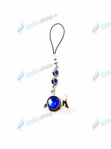 Prívesok Fish - modrý Sapphire