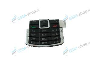 Klávesnica Nokia N72 čierna Originál