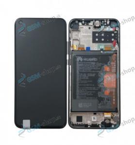 LCD Huawei P40 Lite E a dotyk s krytom čiernym Originál