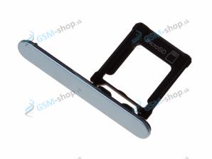 Sim a Micro SD držiak Sony Xperia XZ1 Compact modrý Originál
