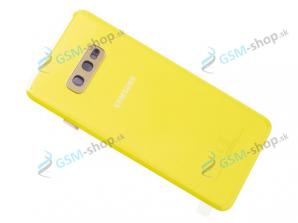Kryt Samsung Galaxy S10e (G970) batérie žltý Originál